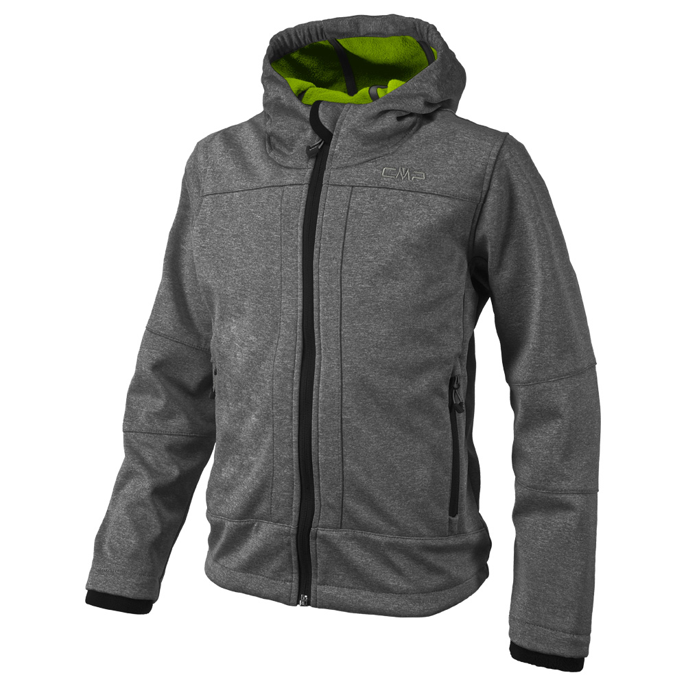 cmp boy softshell jacket fix hood cmp 3a00094m. Black Bedroom Furniture Sets. Home Design Ideas