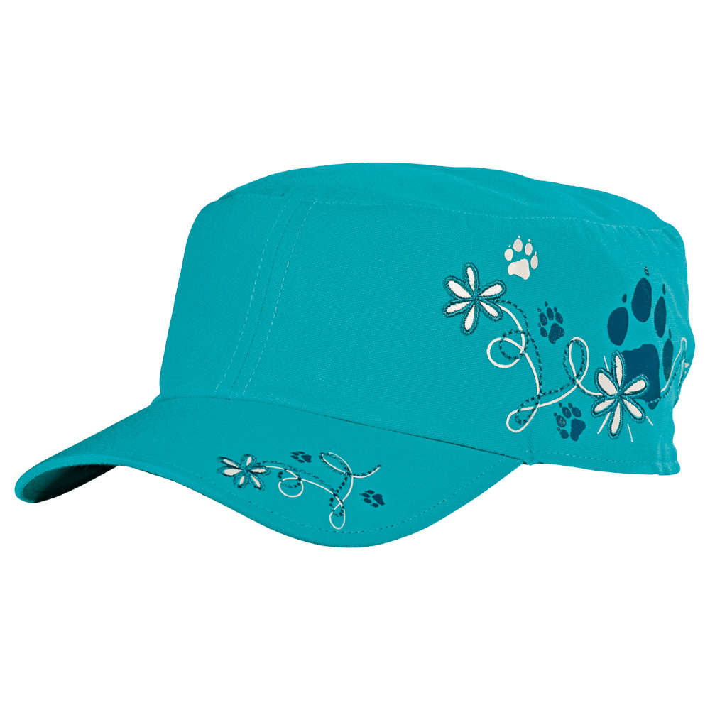 jack wolfskin girls floral cap schildm tze m dchen. Black Bedroom Furniture Sets. Home Design Ideas
