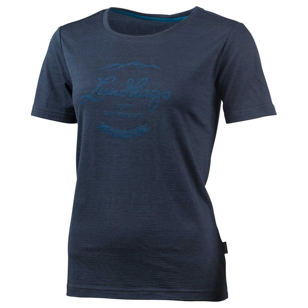 Lundhags T-Shirt Merino Light WS Established Tee Damens Damen Merino T-Shirt Lundhags ab773a