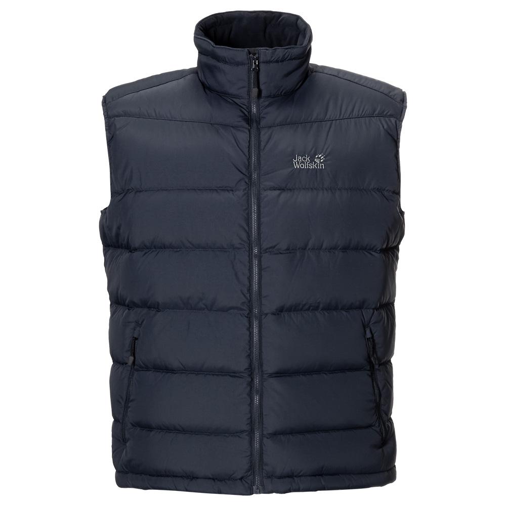 jack wolfskin lhotse vest men daunenweste herren ebay. Black Bedroom Furniture Sets. Home Design Ideas