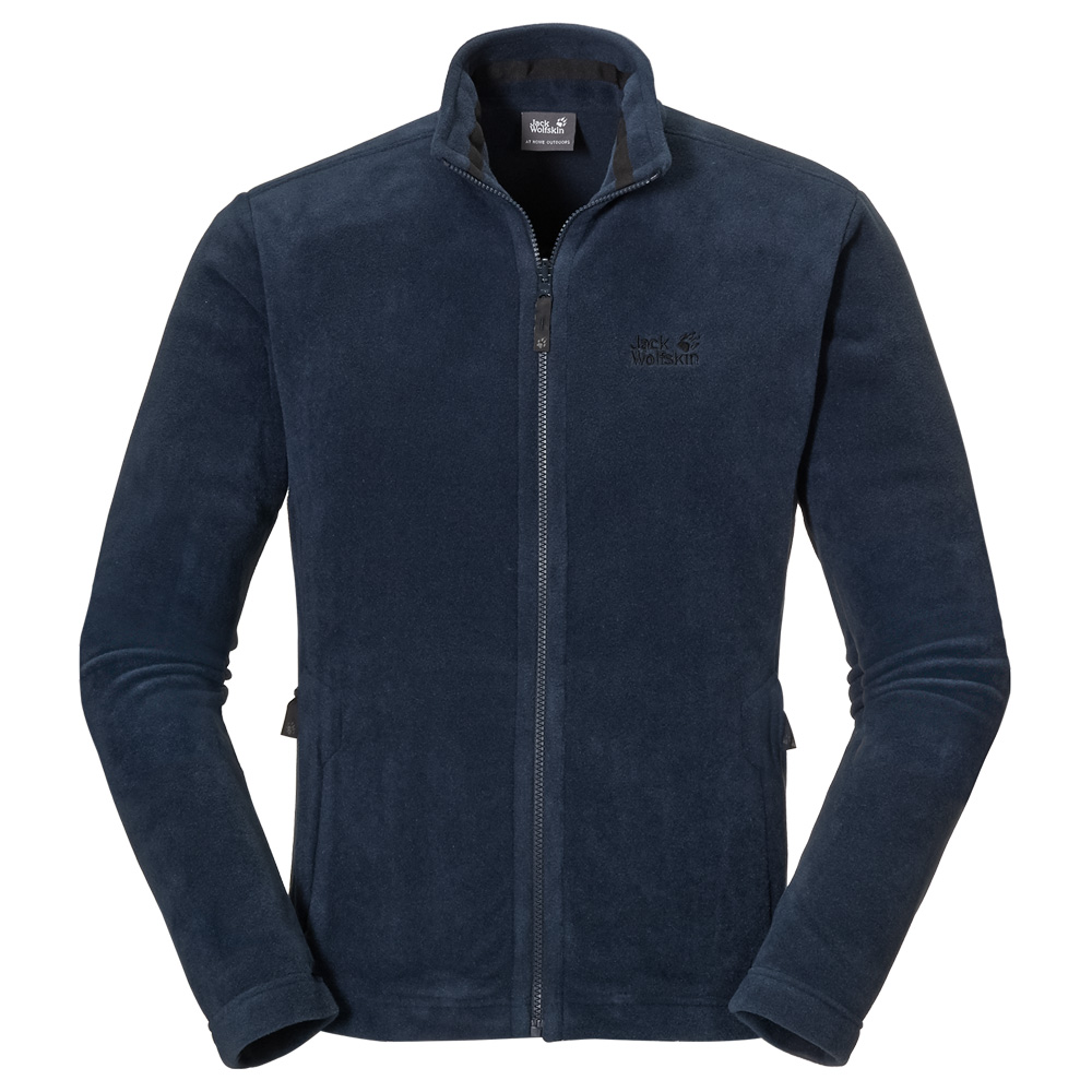 jack wolfskin moonrise jacket men fleecejacke herren ebay. Black Bedroom Furniture Sets. Home Design Ideas