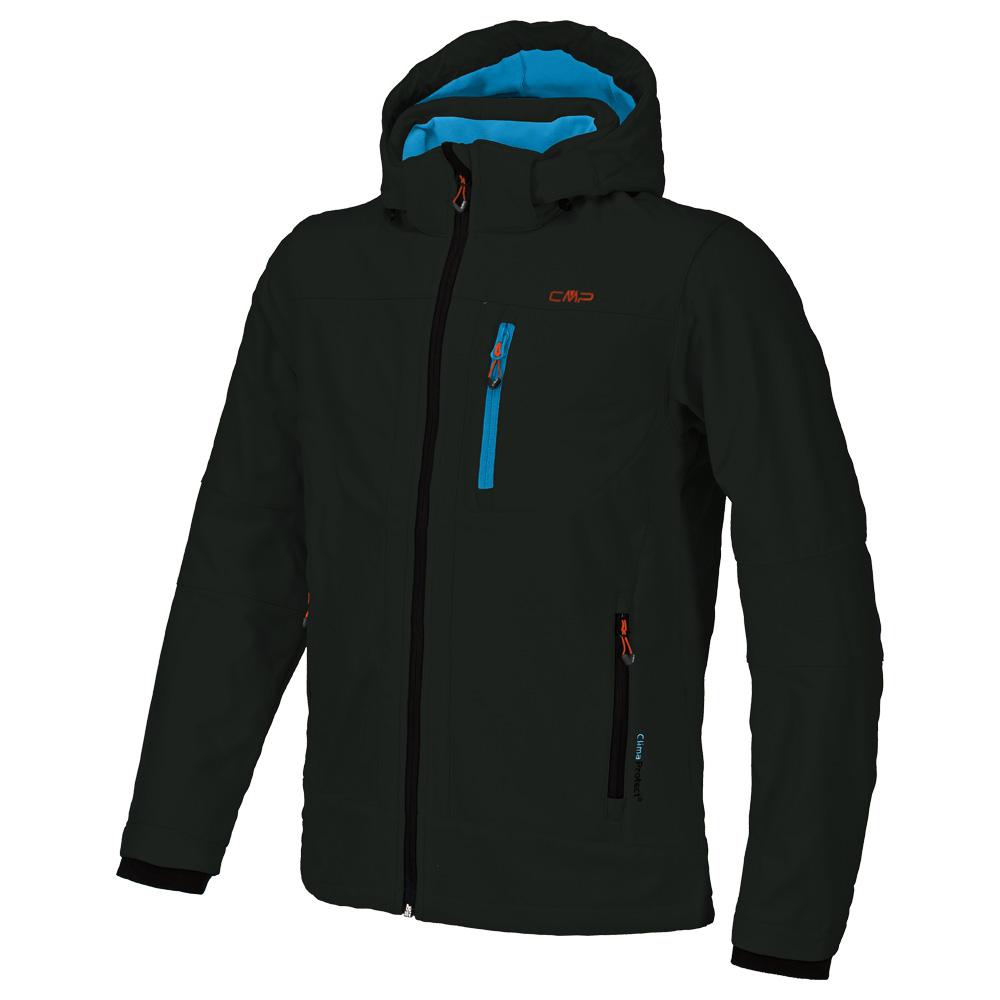 cmp man softshell jacket zip hood cmp 3a01787n. Black Bedroom Furniture Sets. Home Design Ideas