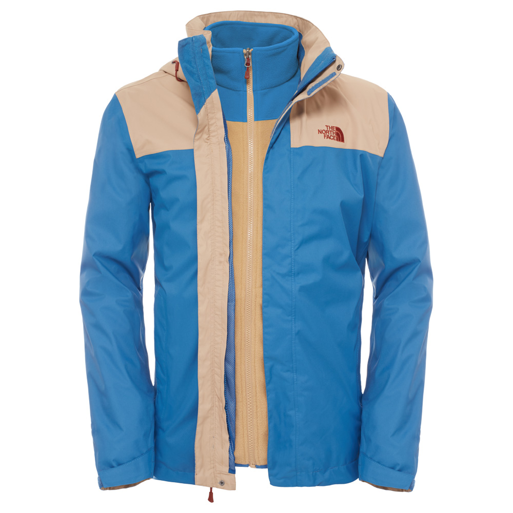the north face evolve ii triclimate jacket men doppeljacke. Black Bedroom Furniture Sets. Home Design Ideas