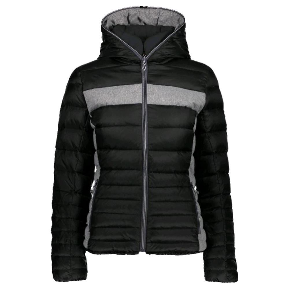 Woman Hood Details Fix Jacket Cmp Damen Zu 3k36176 Daunenjacke TF1cKlJ3