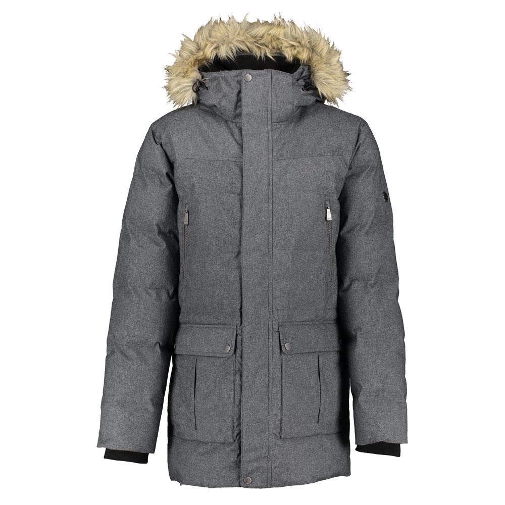 Five Seasons Hannu Jacket Men  gefütterter Winterparka für Herren graphite